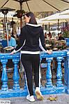 Теплый спортивный женский костюм на флисе (Батал), фото 8