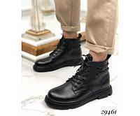 Ботинки сзади с декоративным шнурком, фото 1