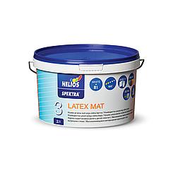 Матовая краска для стен и потолка Latex Mat Spektra Helios 2л  (Латекс Мат Спектра Хелиос)