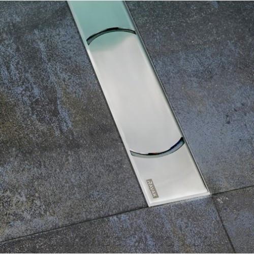 Душовий канал Chrome 750 - нержавіюча сталь