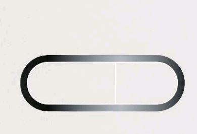 Кнопка управління Chrome (біла)