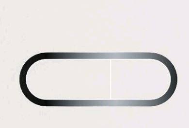 Кнопка управління Chrome (біла), фото 2
