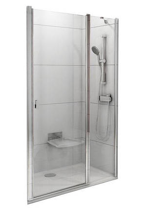 CSD2-120 white (Transparent) Душові двері, фото 2