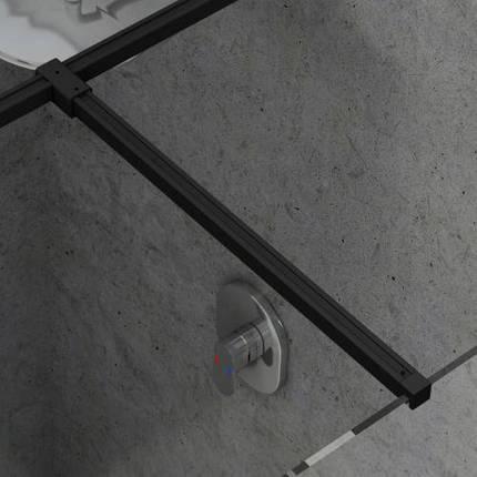 Тримач W SET-Uni Т-подібне з'єднання Чорний, фото 2