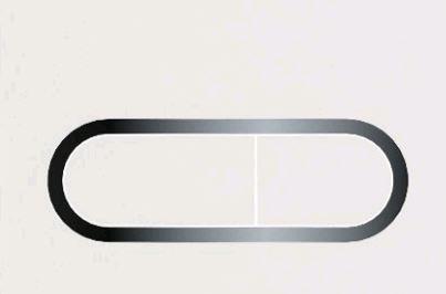 Кнопка управління Chrome (сатин)