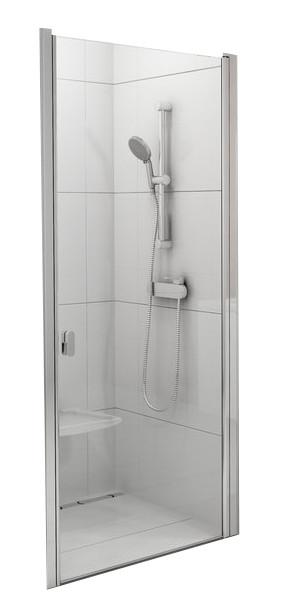 CSD1-90 white (Transparent) Душові двері