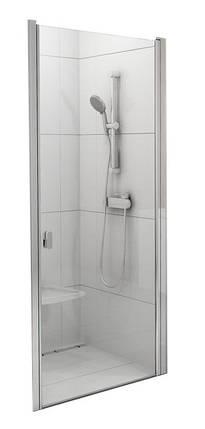 CSD1-90 white (Transparent) Душові двері, фото 2