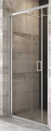 BLDZ 2-90 (Transparent) Bright alu Душова двері, фото 2