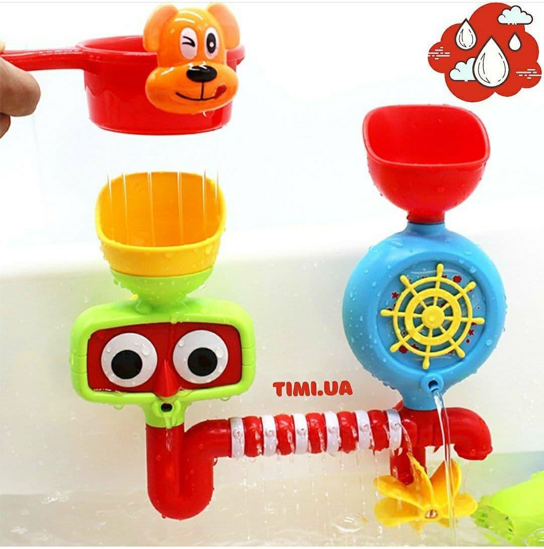 Детская развлекательная игрушка для купания водопад