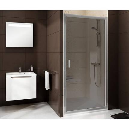 BLDP 2-120 (Transparent) White Душевая дверь, фото 2
