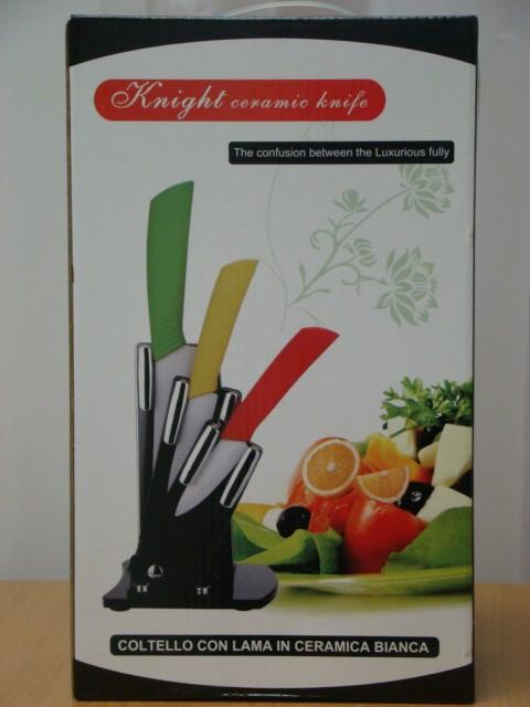 Набір керамічних ножів Ceramic Knight