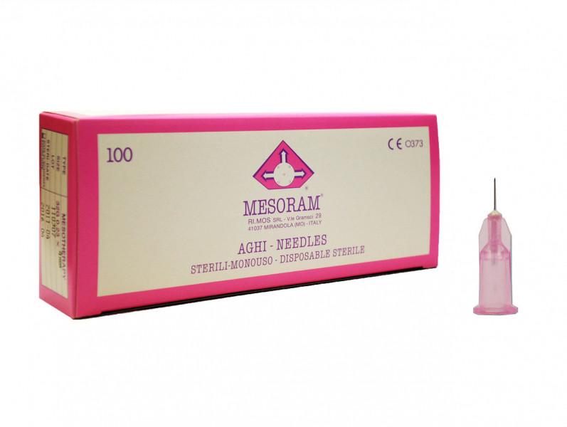 Игла для мезотерапии MESORAM 32G 0.23х4 mm RIMOS Италия