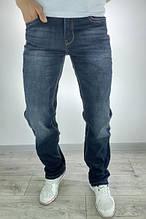 Джинси чоловічі брендові Stretch Slim Fit (темно сірий)
