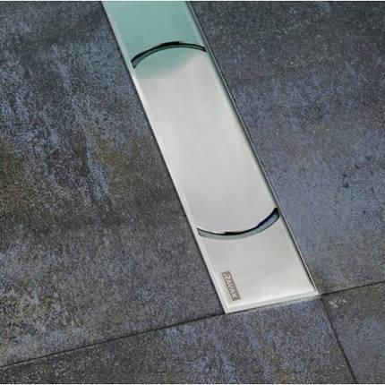 Душовий канал OZW Chrome 950 - нержавіюча сталь, фото 2