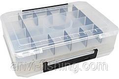 Коробка для воблеров 45 ячеек - 20x30x8 см