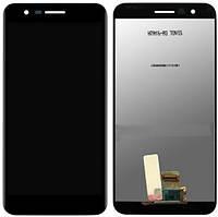 Дисплей LG K10 (2018), LG K11, LG K30 (2018) complete Black