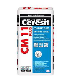 Клей для плитки Ceresit СМ-11 Plus 25кг
