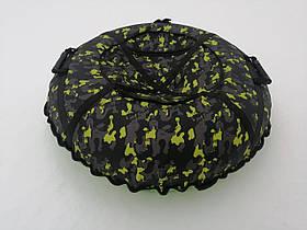 Тюбинг, надувные санки 100 см Хаки (Оксфорд)