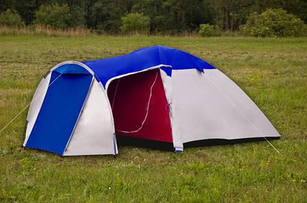 Палатка туристична Presto Monsun 4 Pro клеєні шви, H2O 3500мм, фото 2