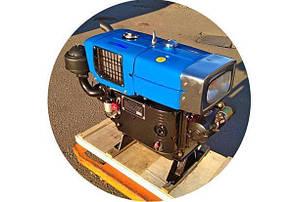Двигатель дизельный с водяным охлаждением  ZH1100 - Zubr (15 л.с) с электрозапуском КОД  7073