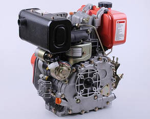 Двигатель 178FE - (под шлицы Ø25mm) (6 л.с.) с электростартером КОД  3991