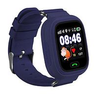 Детские смарт часы с GPS трекером Baby Watch Q90 синие