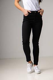 Ультра модные черные джинсы-скинни со средней  посадкой в размерах: S, M, L, XL.