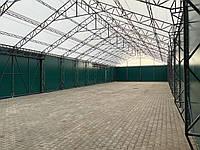 Тентові конструкціі від TENT.UA, Тентовий склад 15 * 20 з розсувними воротами встановлено в 2021 році