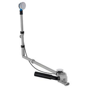 Сифон для ванны GEBERIT GEBERIT cлив-перелив удлиненный, с поворотной ручкой и крышкой сливного отверстия,