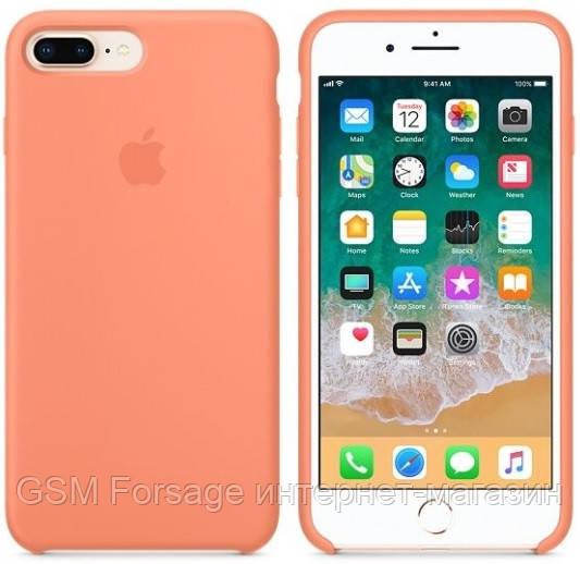 Чехол (Silicone Case) для iPhone 7 Plus / iPhone 8 Plus Peach