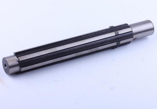 Вал на минитрактор КПП №4 L-243mm, Z-6 Xingtai 24B, Shifeng 244,Taishan 24 12.37.139