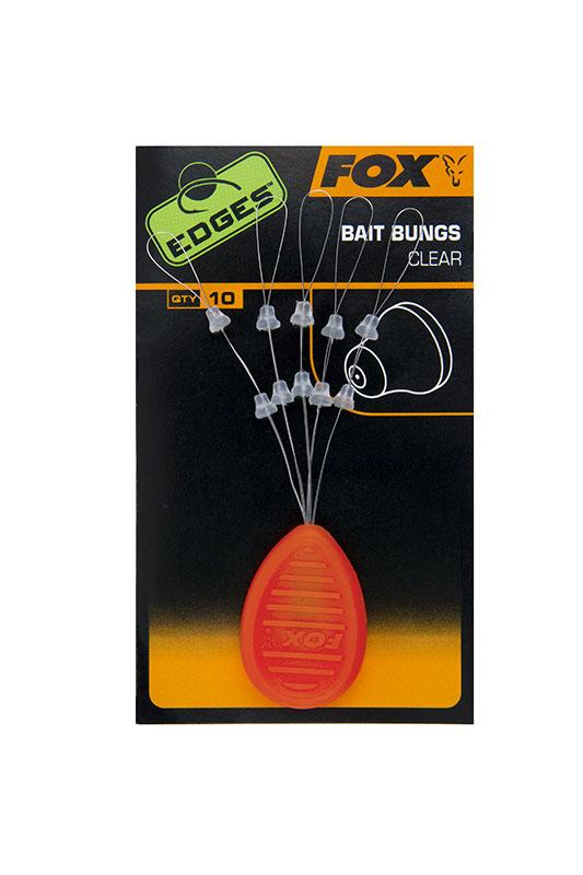 Стопор на волос для бойла Fox Edges Bait Bungs Clear