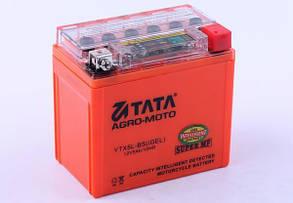 Аккумулятор гелевый, 5Аh-YTX5L-BS, оранж., 114*70*106мм, С ИНДИКАТОРОМ - OUTDO