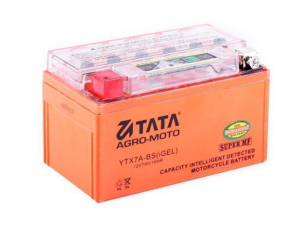 Акумулятор 7Аһ-YTX7A-BS OUTDO (гелевий, оранж. З ІНДИКАТОРОМ) 150*86*94мм