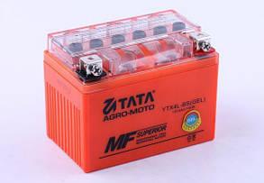 Аккумулятор гелевый, 4Ah-YTX4L-BS, оранж., 114*70*86мм - OUTDO