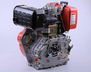 Двигатель 186F - (под шлицы Ø25mm) (9 л.с.) КОД  3990