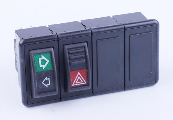 Перемикачі приладової дошки праві Foton 354/404