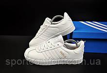 Кроссовки Adidas Gazelle женские белые