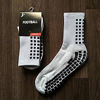 Футбольные тренировочные носки Football длинные белые