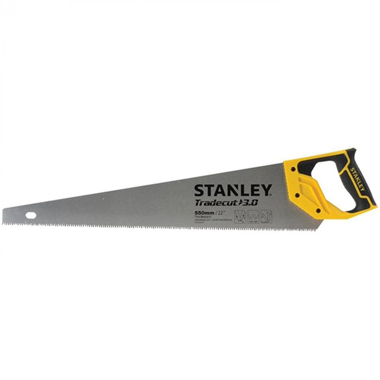 """Ножовка по дереву """"TRADECUT"""" 550 мм STANLEY STHT1-20352"""