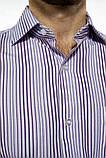 Сорочка чоловіча офісна класичного крою (2 кольори, р. 38-42), фото 5