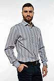 Сорочка чоловіча офісна класичного крою (2 кольори, р. 38-42), фото 6