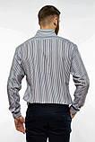 Сорочка чоловіча офісна класичного крою (2 кольори, р. 38-42), фото 9