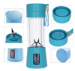 Блендер USB Juice Cup HM-03 (4 ножа)