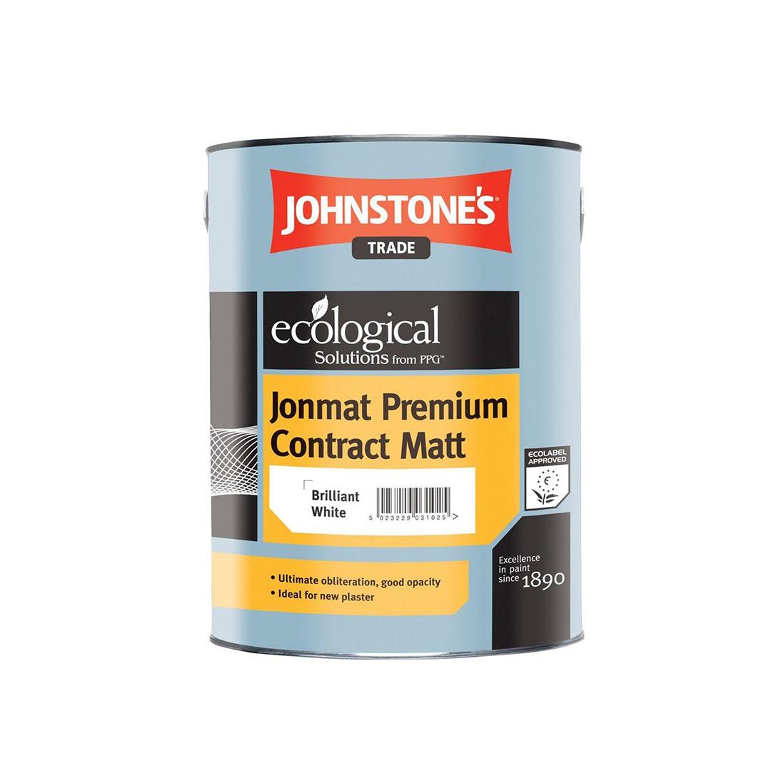 Вінілова інтер'єрна фарба Johnstones Jonmat Premium Contract Matt матова 5л