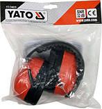 Наушники шумозащитные пластиковые 32 дБ Yato YT-74633 (Польша), фото 2