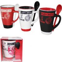 2168-3 Чашка з ложкою 270мл Аромат кави