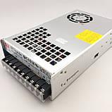 Блок питания для светодиодной ленты 24В 450Вт MEANWELL SE-450-24. Трансформатор для led ленты 24V, фото 2
