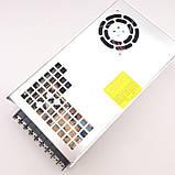 Блок питания для светодиодной ленты 24В 450Вт MEANWELL SE-450-24. Трансформатор для led ленты 24V, фото 7