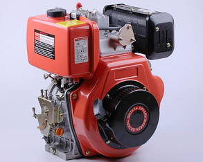 Двигун 186FE - (під шліци Ø25mm) (9 к. с.) з електростартером КОД 3989